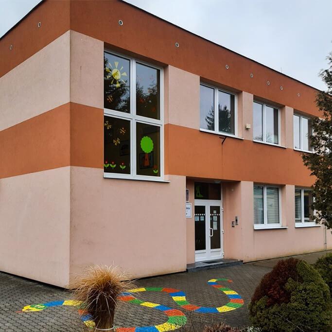 Budova mateřské školy v Čechově ulici